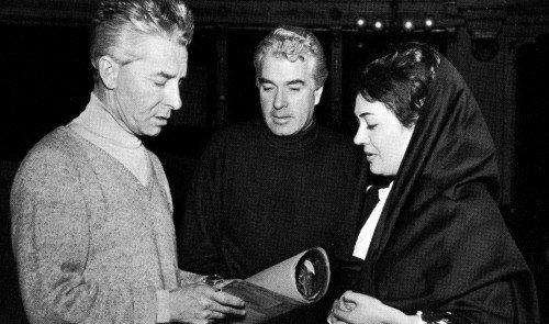 Herbert-con-Karajan-Giorgio-Strehler-and-Fiorenza-Cossotto-Cavalleria-Rusticana-La-Scala-1966-500x295.jpg